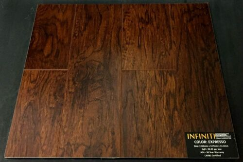 Expresso 12.3mm Infiniti Laminate Flooring