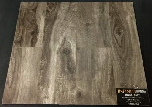 Grey 12.3mm Infiniti Laminate Flooring