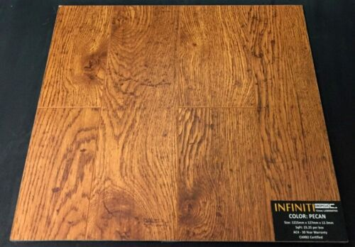 Pecan 12.3mm Infiniti Laminate Flooring