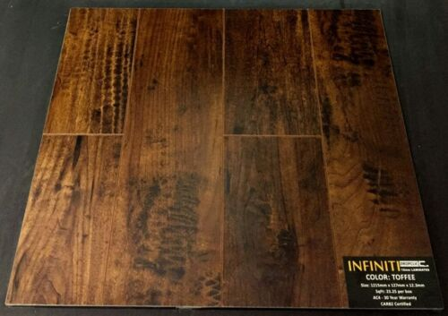 Toffee 12.3mm Infiniti Laminate Flooring