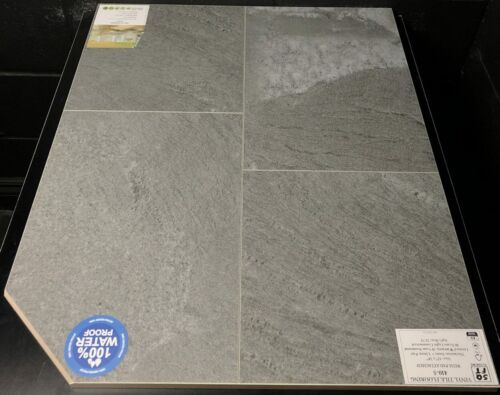 410-5 Simba 12X24 Vinyl Tile Flooring 5mm + 1.5mm Pad Attached