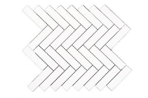 44STM036 Ariston Polished Herringbone Polished Marble Mosaics 1 1 1