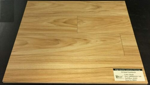 8061 Maple Dream Living 12.3mm Random Collection Laminate Flooring