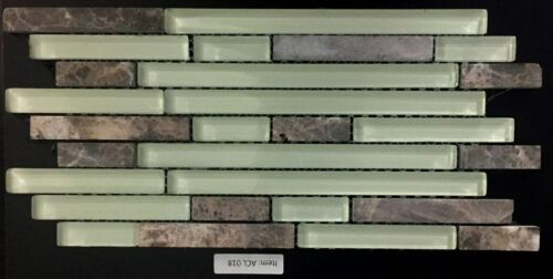 ACL 018 Glass and Stone Backsplash / Mosaic
