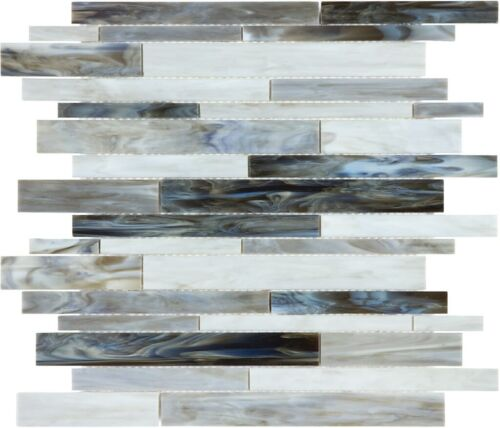 ALBASTRO 35 083 RANDOM STRIP MOSAIC BAROQUE STAINED GLASS MOSAICS