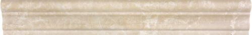 ALLURA CREMA MARBLE 2x12 ASPENDOS CHAIRRAILS POLISHED 77 355 HONED 77 356