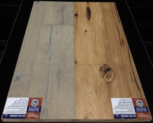 ALPS 13467 AND NATURAL 13458 OBSESSION HICKORY ENGINEERED HARDWOOD FLOORING 1 1