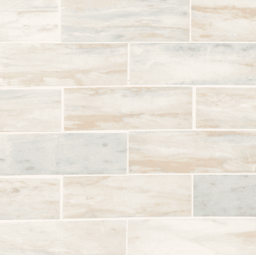 ANGORA SUBWAY 2X6 POLISHED Marble Mosaics