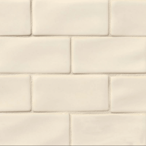 ANTIQUE WHITE SUBWAY TILE 3X6 Ceramic Mosaics