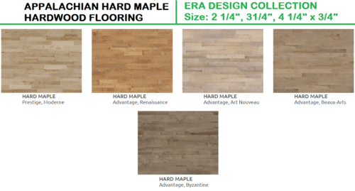 Appalachian Hard Maple Hardwood Flooring – Era Design Collection