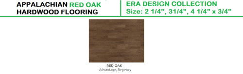 APPALACHIAN RED OAK HARDWOOD FLOORING ERA DESIGN COLLECTION 1
