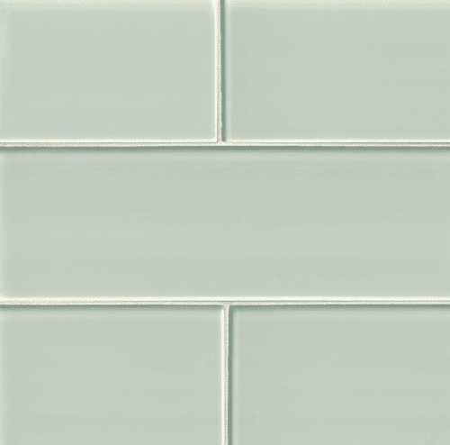 ARCTIC ICE GLASS SUBWAY TILE 4X12 Crystallized Glass Mosaics