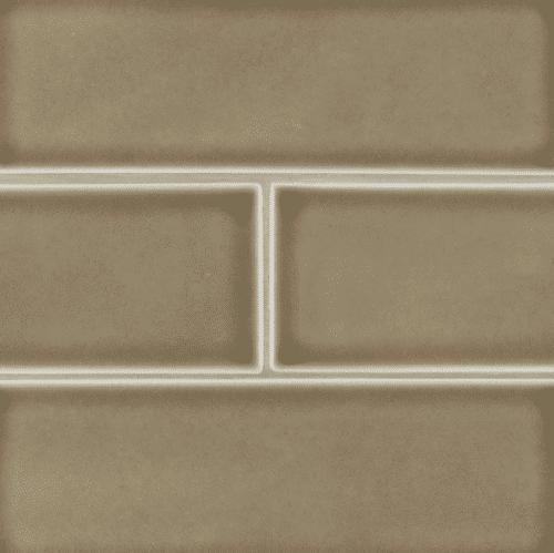 ARTISAN TAUPE SUBWAY TILE 4X12 Ceramic Mosaics