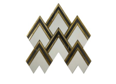 AURORA HERRINGBONE GOLD MG824