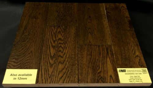 Aged Oak NAF Oak Engineered Hardwood Flooring Handscraped 1