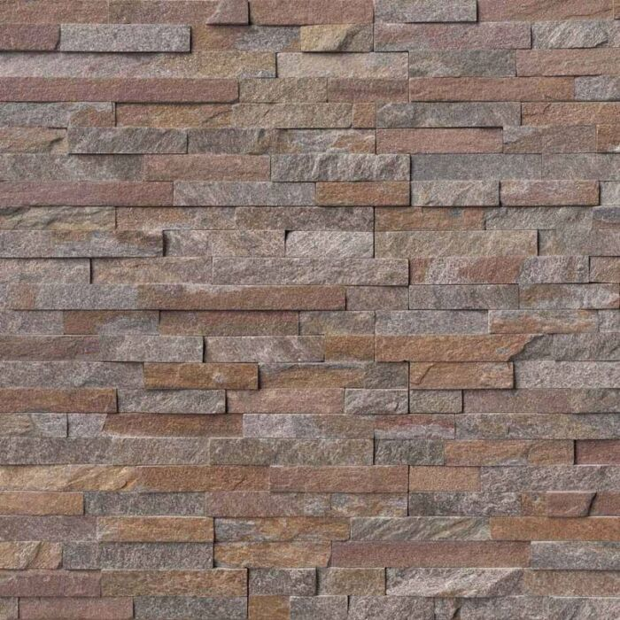 Amber Falls Stacked Stone Panels Ledgerstone 6X24 1