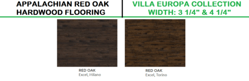 Appalachian Red Oak Villa Europa Collection Hardwood and Engineered Wood 1