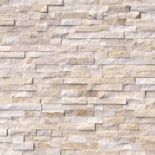 Arctic Golden Stacked Stone Panels Ledgerstone