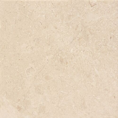 BERKSHIRE CREMA 6X6 MARBLE TILE POLISHED 72 055 HONED 72 052