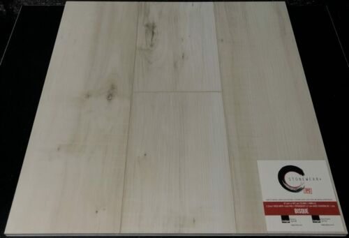 BISQUE 5.2MM STONEWEAR+ SPC VINYL PLANK FLOORING WITH PAD
