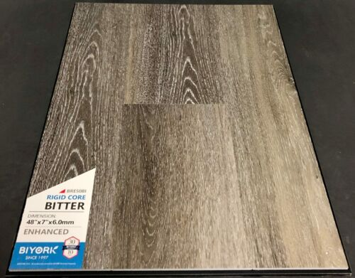 Bitter Biyork 6mm SPC Vinyl Plank Flooring Rigid Core – Enhanced