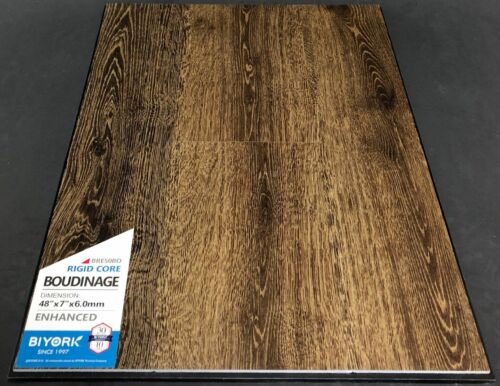 Boudinage Biyork 6mm SPC Vinyl Plank Flooring Rigid Core – Enhanced