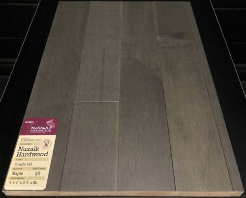 CRUDE OIL NUXALK MAPLE HARDWOOD FLOORING 1 1