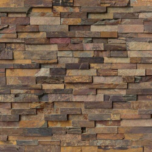 California Gold Stacked Stone Panels Ledgerstone 6X24 1