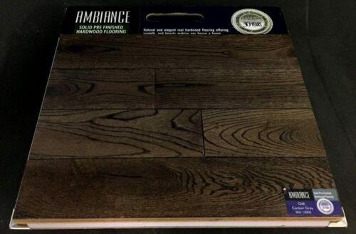 Carbon Grey 13005 Ambiance White Oak Hardwood Flooring