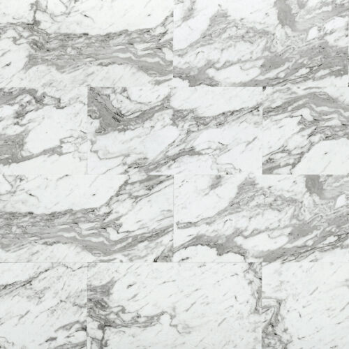 Carrara Marble 6088 Studio+ Vinyl Tile Flooring – Power Dekor – Citiflor