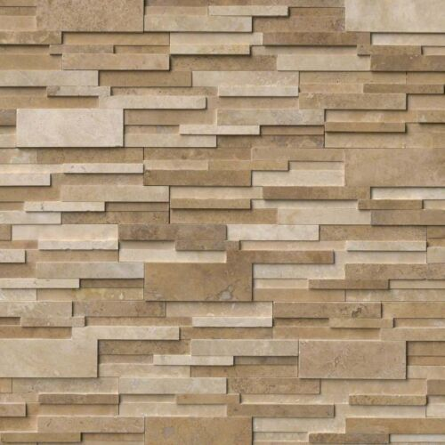 Casa Blend 3D Honed Stacked Stone Panels Ledgerstone 6X24 1