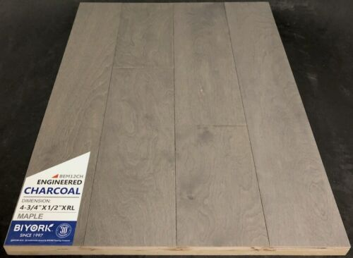 Charcoal Biyork Maple Engineered Hardwood Flooring
