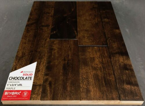 Chocolate Biyork Maple Hardwood Flooring