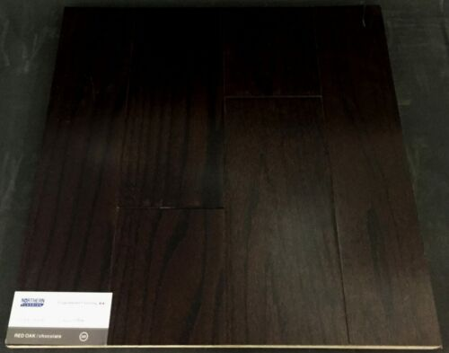 Chocolate Northern Red Oak Engineered Hardwood Flooring (Click)