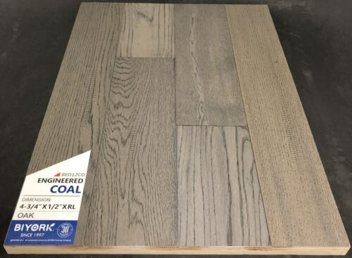 Coal Biyork Oak Engineered Hardwood Flooring