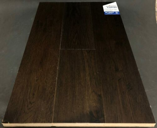 Coffee Biyork Hickory Engineered Hardwood Flooring