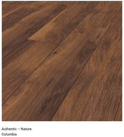 Columbia 12mm Authentic Nature Laminate Flooring