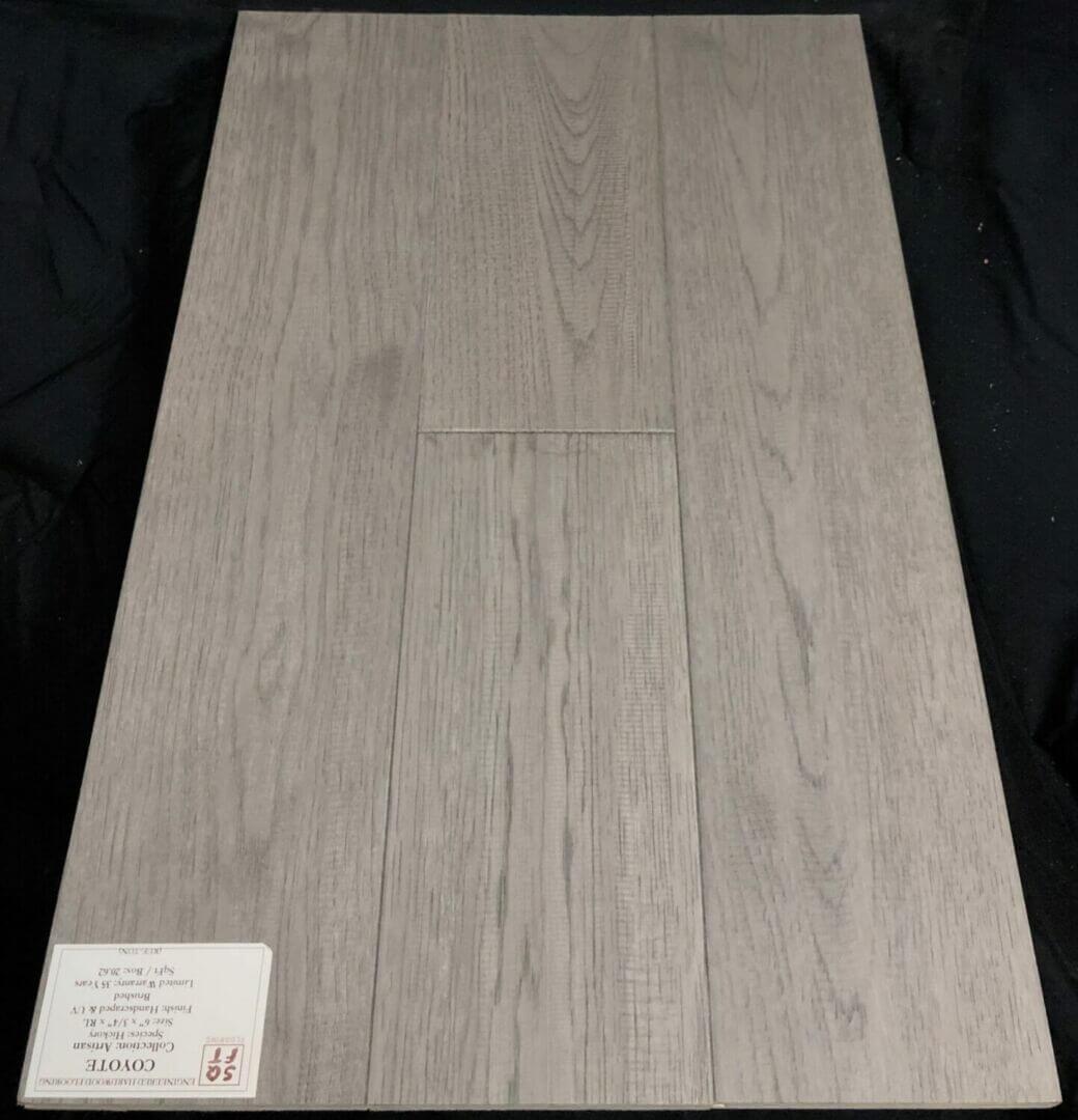Coyote Grandeur Hickory Artisan Engineered Hardwood Flooring