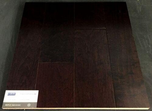 Dark Brown Maple Engineered Hardwood Floors 1 1