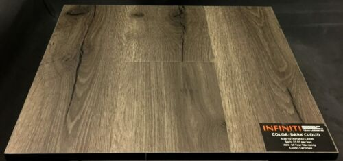 Dark Cloud 12.3mm Infiniti Laminate Flooring