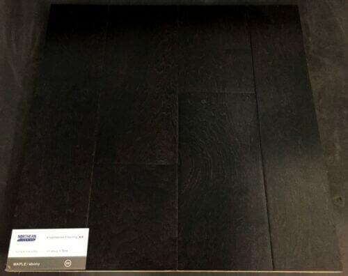Ebony Maple Engineered Hardwood Floors 1 1