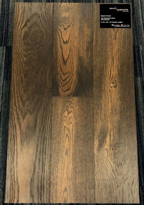 Elusive Forest Brand Surfaces Oak Wirebrushed Engineered Hardwood Flooring scaled 2 1