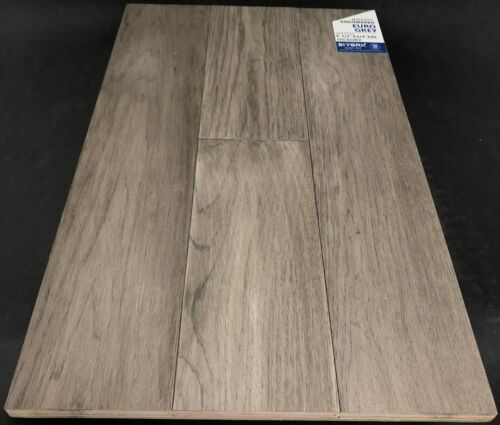 Euro Grey Biyork Hickory Engineered Hardwood Flooring