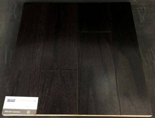 Espresso Northern Red Oak Engineered Hardwood Flooring (Click)
