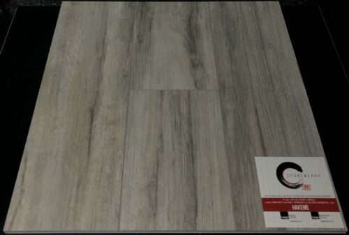 HAKEME 5.2MM STONEWEAR+ SPC VINYL PLANK FLOORING WITH PAD