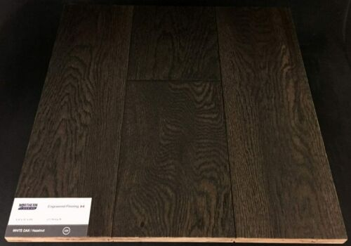 Hazelnut Northern White Oak Wire Brush Engineered Hardwood Flooring (T/G)