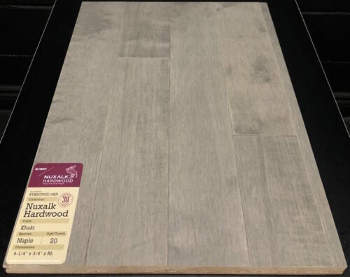 KHAKI NUXALK MAPLE HARDWOOD FLOORING