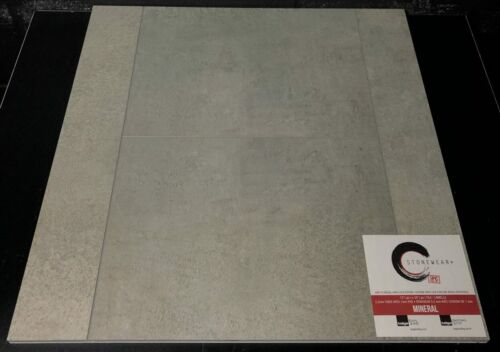 MINERAL 5.2MM STONEWEAR+ SPC VINYL TILE FLOORING 12X24 WITH PAD