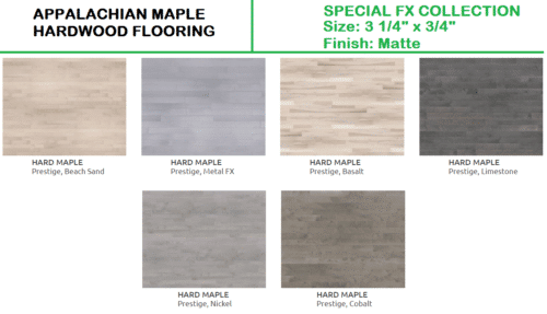 Appalachian Hard Maple Haradwood Flooring – Special FX Collection