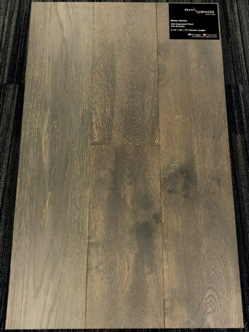 Meteor Shower Brand Surfaces Oak Wirebrushed Engineered Hardwood Flooring scaled 2 1